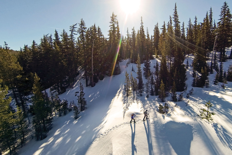 Sneeuwschoenlopen brengt je op plekken waar anderen niet komen.