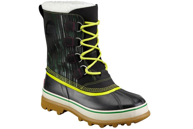 Sorel sneeuwschoenen houden je voeten warm tijdens het sneeuwschoenwandelen.
