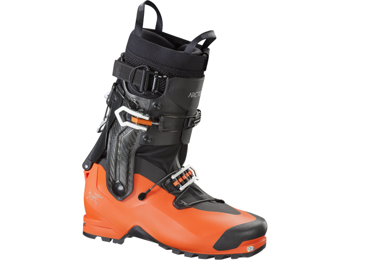 Arc'teryx Procaine boot combineert de bouw van een klassieke hoge alpine bergschoen met een lichtgewicht toerskischoen.