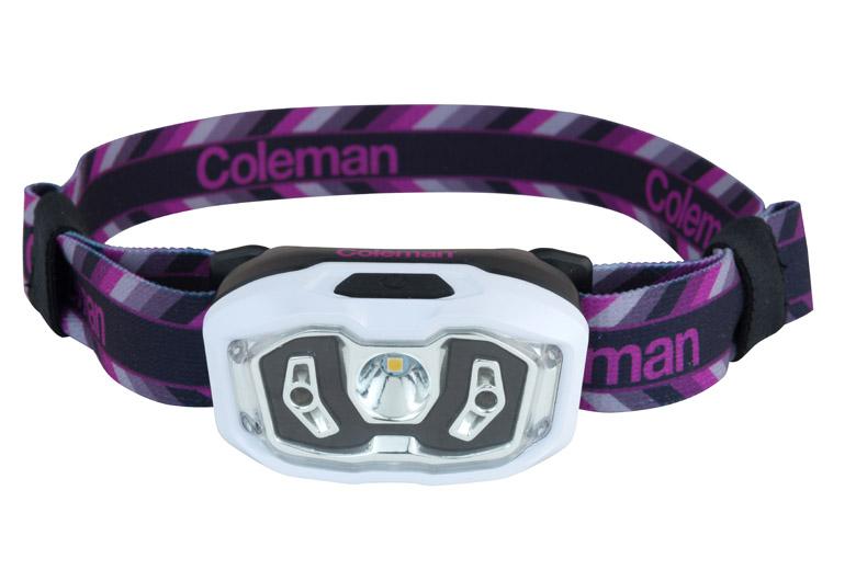 De Coleman CHT met BatteryLock is er met een paarse band...
