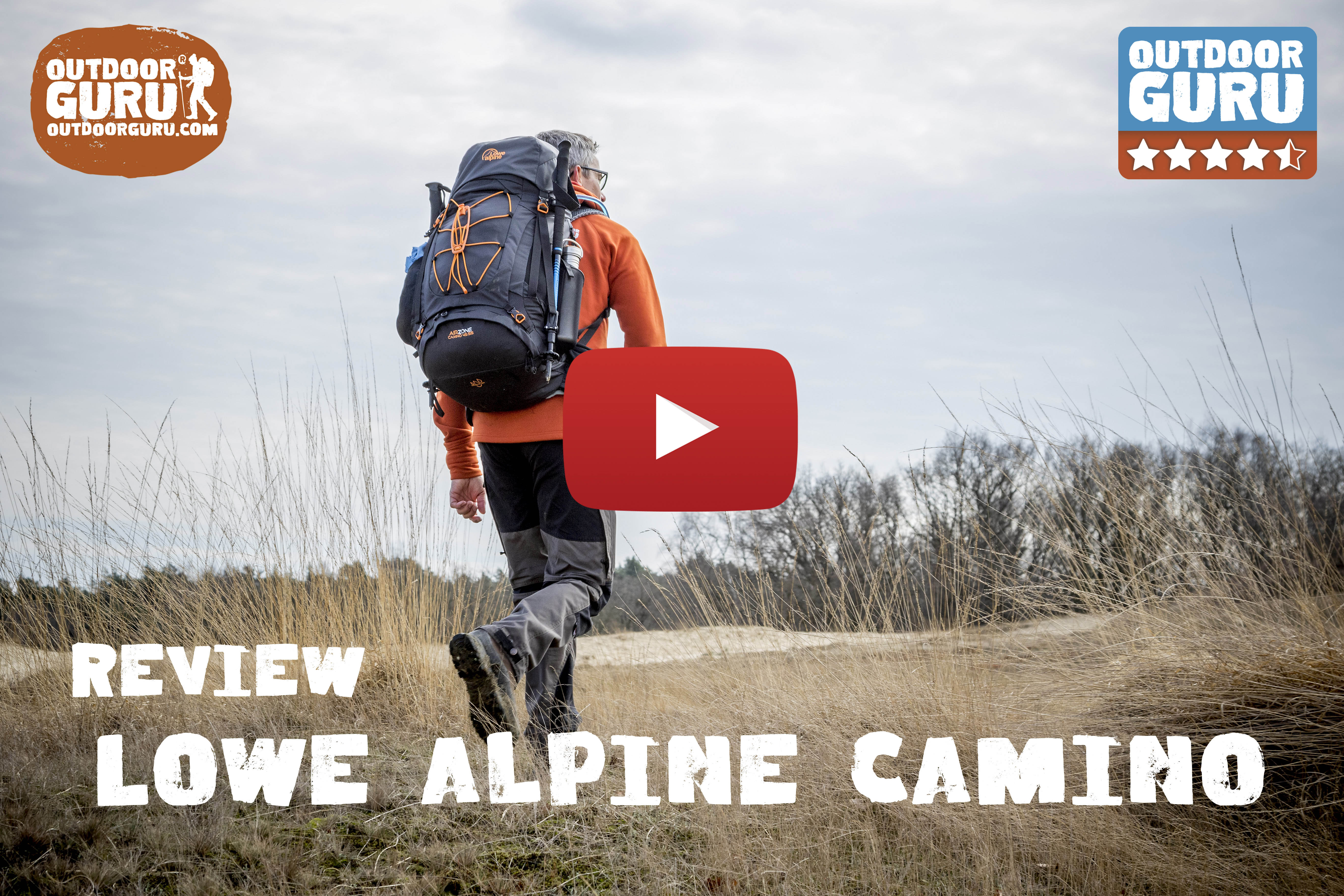 Review Lowe Alpine Camino