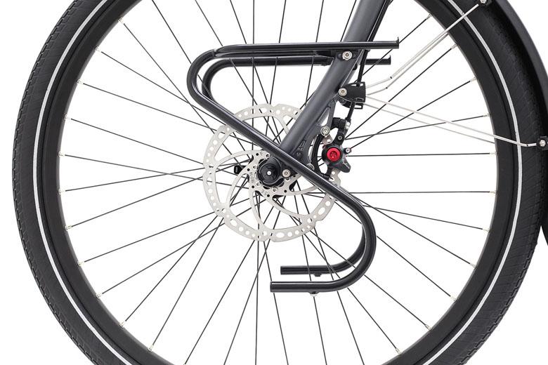 Wil je wel met een voordrager fietsen dan moet je kiezen voor een stalen voorvork.