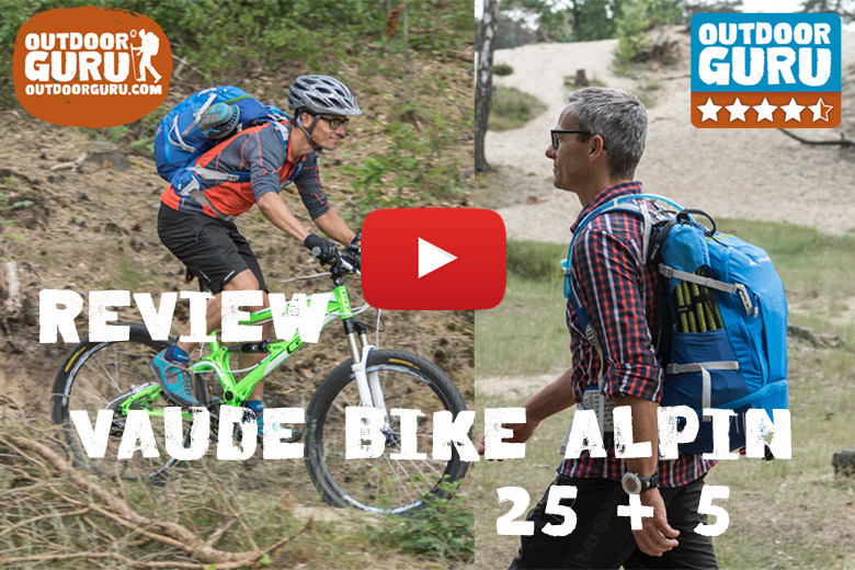 Review Vaude Bike Alpin 25 + 5