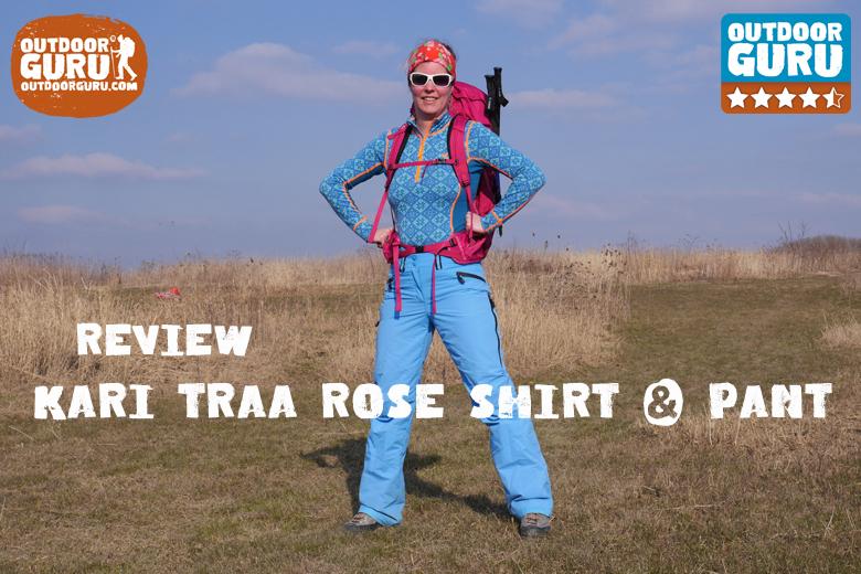 Review Kari Traa Rose Pant en Shirt