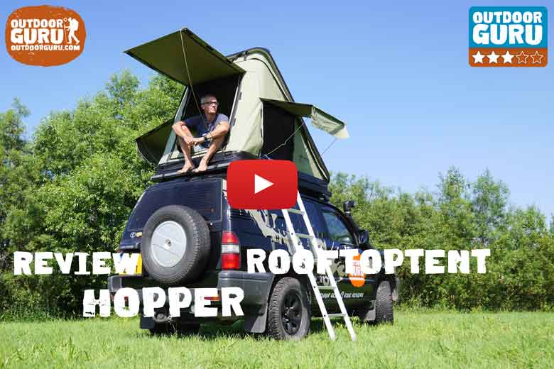 Review Hopper daktent