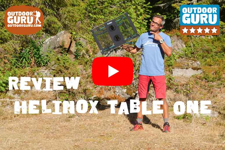 Review Helinox Table One