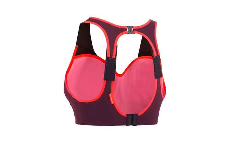 Aan de achterkant heb je diverse stelmogelijkheden bij de Kari Traa Driva Sports BH.
