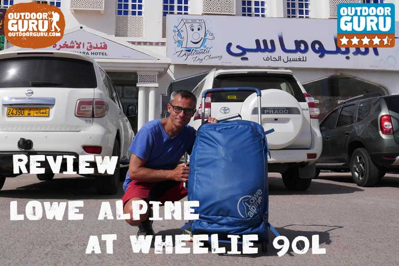 Review Lowe Alpine AT Wheelie 90L