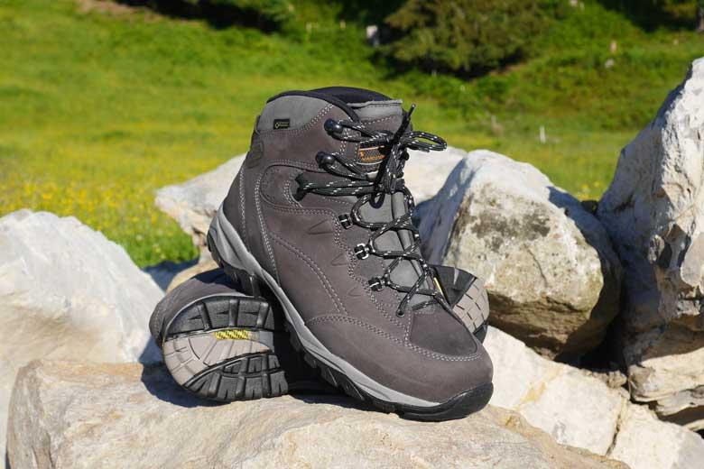 De Meindl Vakuum Men Sento GTX is geschikt voor op de paden en minder voor klauteren en klimmen.