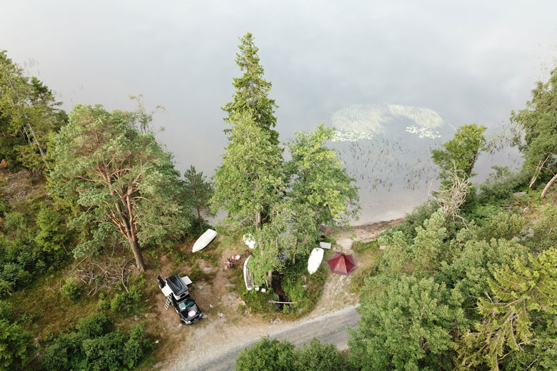 The Tentipi Olivin 2 Combi has been able to prove itself in Sweden for a month.
