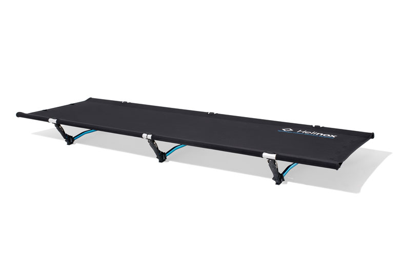 The Helinox Cot one Convertible is a newfangled stretcher according to the Helinox philosophy.