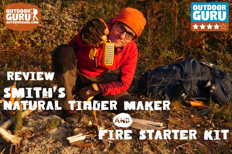 Review Smith's Natural Tinder maker and Fire Starter Kit