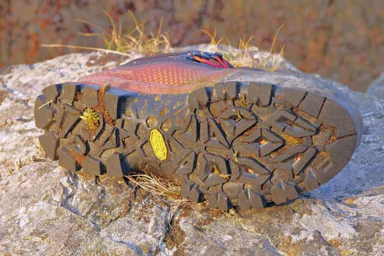The running sole under the Tecnica Forge S GTX is from Vibram and has been developed especially for the Forge.