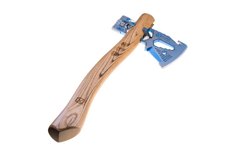 De Klecker Ti-Klax Lumberjack is met € 699,- fors duurder dan de gewone Klax: € 149,95.