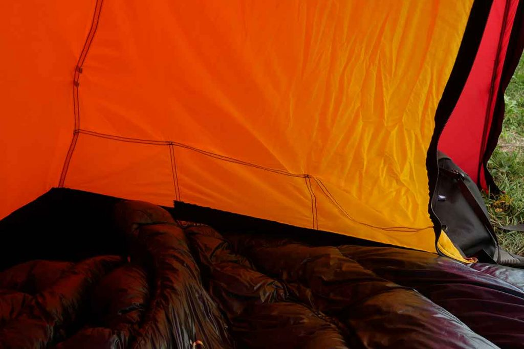 The inner tent has six pockets and loops for a gearloft.