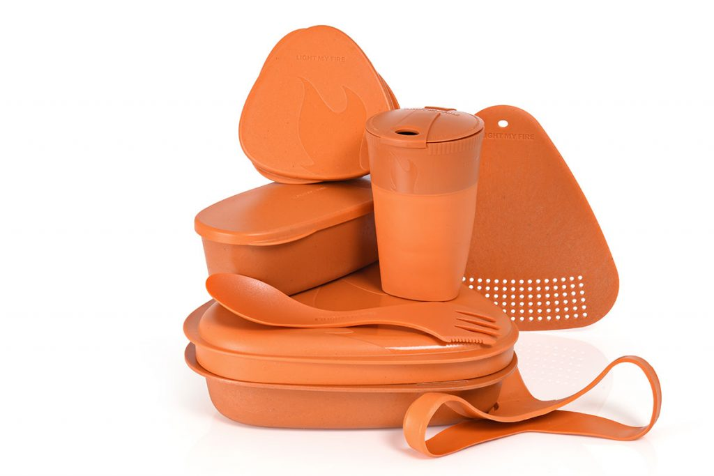 The biobased plastic Meal kit is available in 8 colors. For the Dutch: Orange!