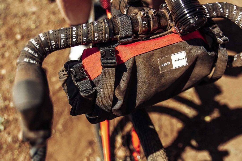 The Tendril is a handlebar bag.