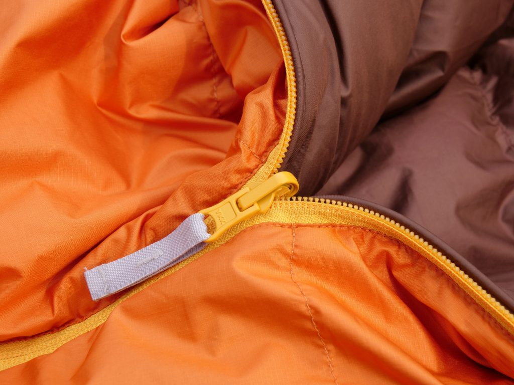 The zipper has a great pull tab.