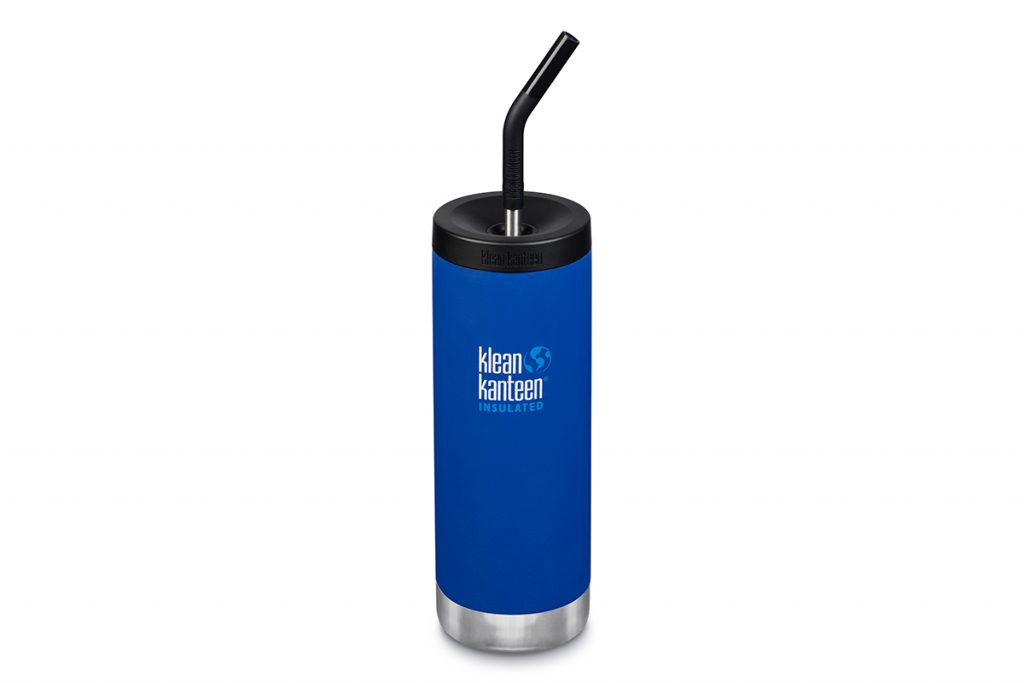 Thinking about sustainability: the metal reusable Klean Kanteen Straw.