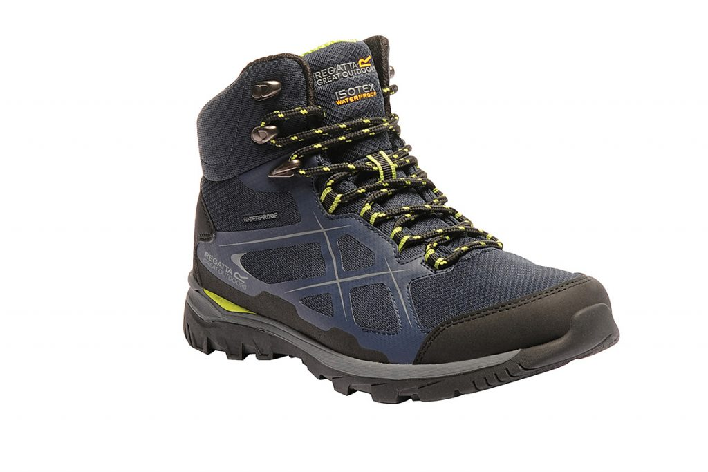 The Regatta Kota II Mid Walking Boot is a mid-high walking shoe for men.