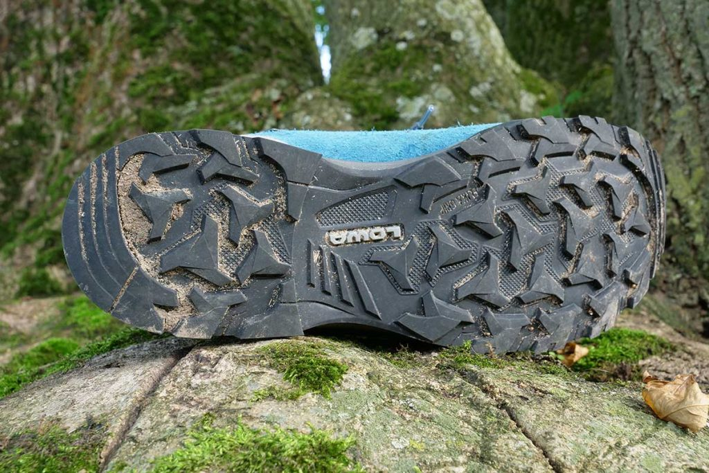 Lowa uses it's own outsole: the Lowa Elika.
