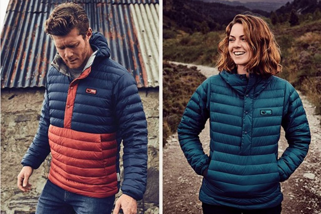 Urban looks for the Rab Horizon collection.