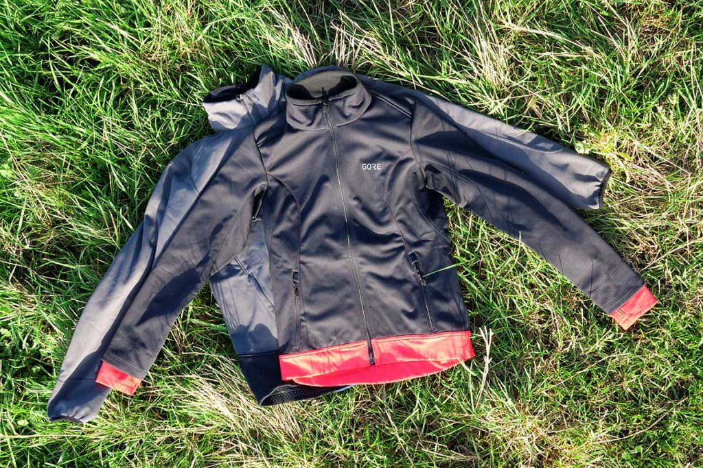 Gore Wear Gore C5 Windstopper Thermo Trail Jacket I for man, the C3 for women.