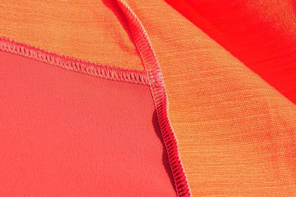 The Ortovox Pala Jacket has merino wool on the inside.