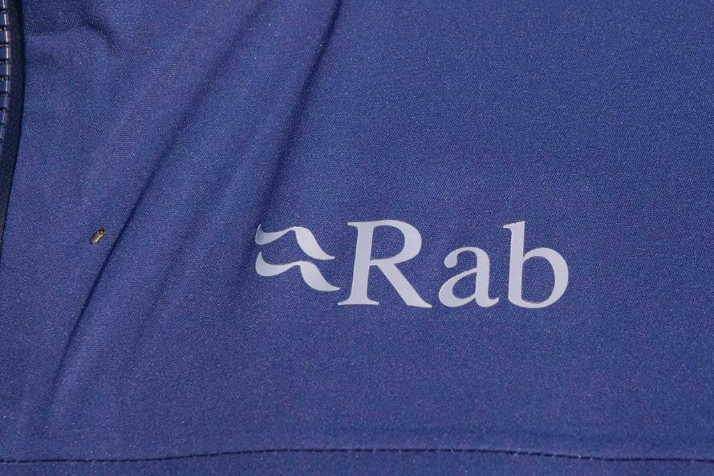 Rab is not very clear when it comes to sustainability.