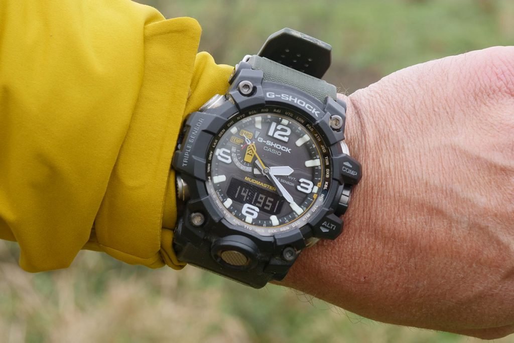 The G-Shock Mudmaster is a very impressive watch to look at.
