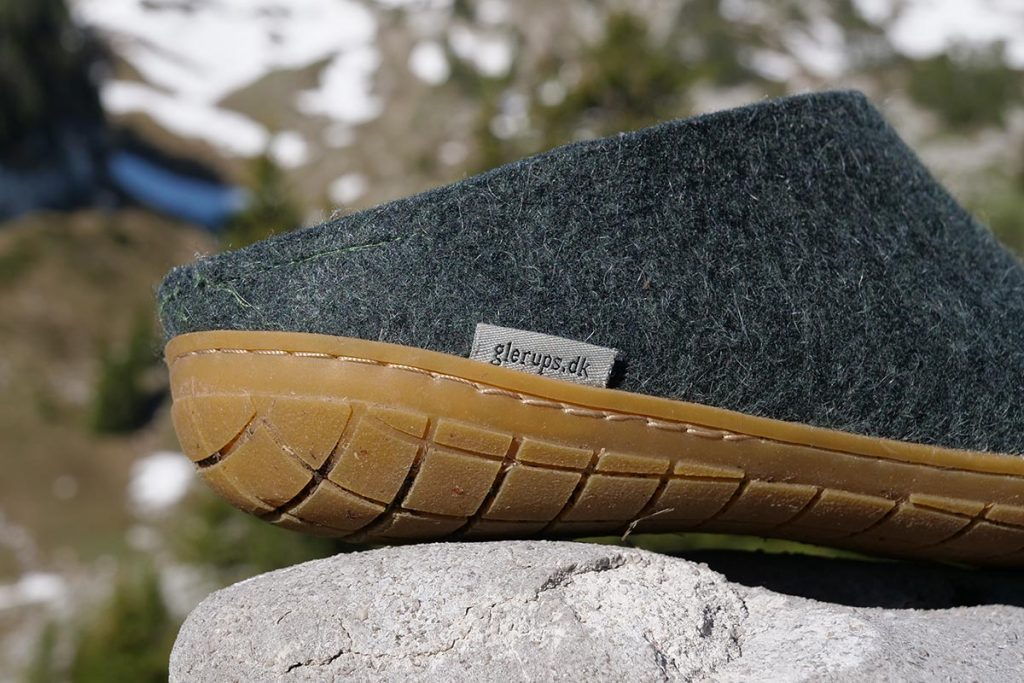 Glerups is a company from Denmark that specializes in slippers made from felt.