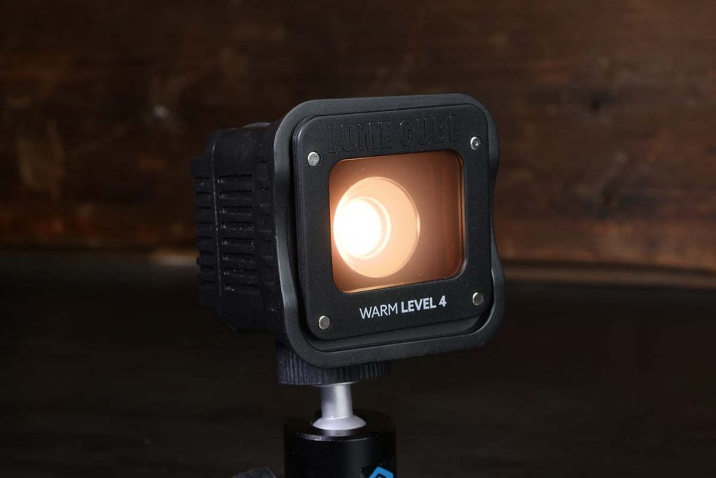 With the warming gels I can make faces or surroundings a bit warmer (from 5600K to 3500K).
