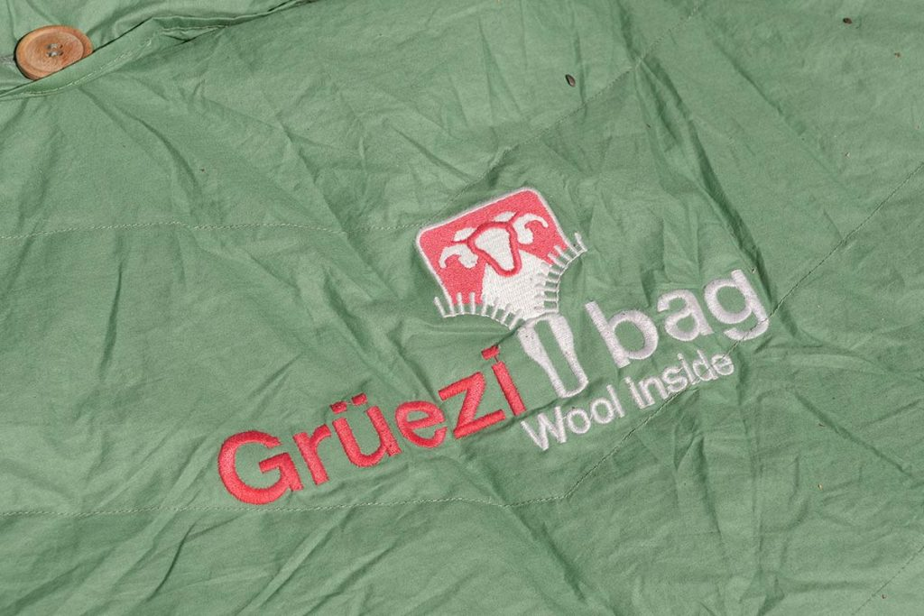 The Grüezi bag Biopod DownWool Nature Sleeping bags use wool and down to keep you warm.