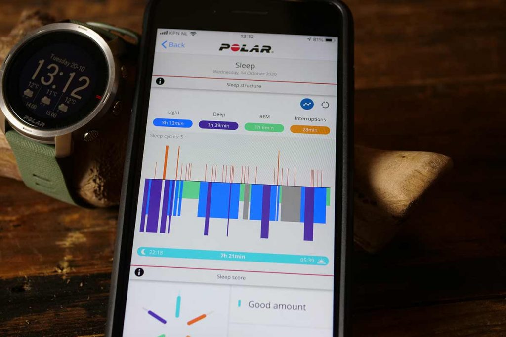 I would buy the the Polar Grit X just for the sleep monitor. The app and...