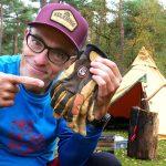 Hestra Ergo Grip Active Glove in short