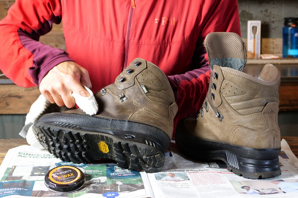 I like to use bees wax for my leather hiking and backpacking boots.