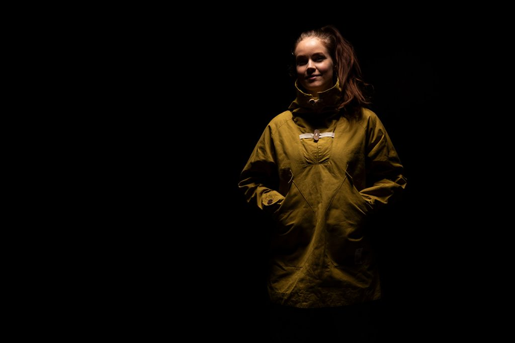 The Bergans future labs 05.B Anorak is made of a mix of Spinnova fibres, Tencel and Organic Cotton.