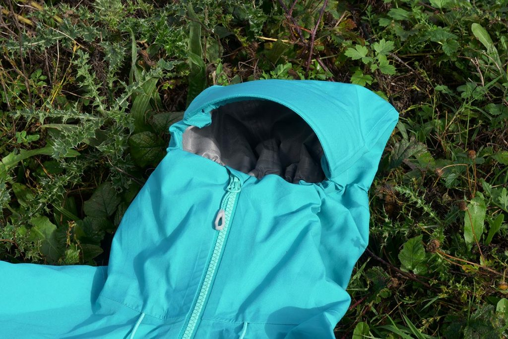The hood / collar construction on the Mammut Crater Jacket is excellent.